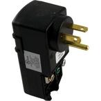 20A Plug-In GFCI, 90deg NEMA 5-20P Male Plug Cord End, 115V
