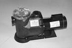 Waterway - 2 HP Max Rate Single Speed In-Ground Pool Pump - 380266