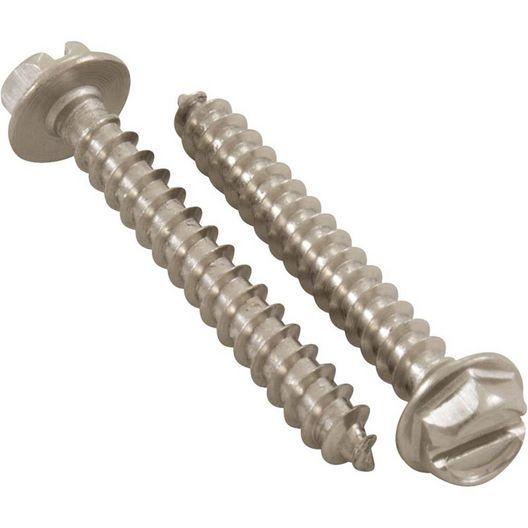 Jacuzzi&reg  Diffuser screws 8-16 x 1-1/4 inch 5/pk
