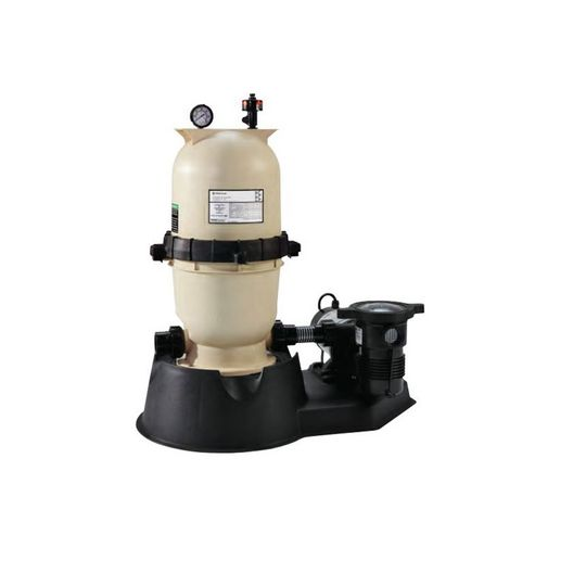 Sta-Rite  EC-PNCC0075OE1160  Above Ground Modular Pool Filter System with 1 HP OptiFlo Pump  Limited Warranty