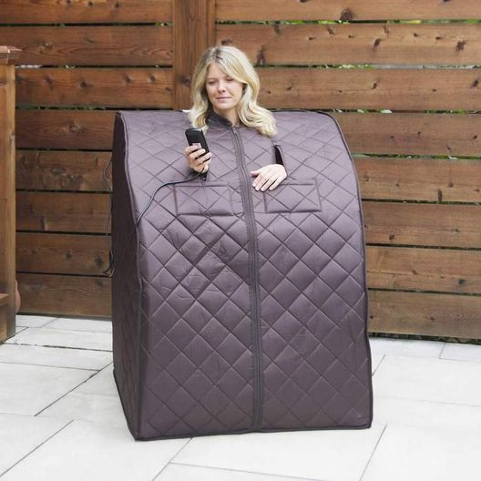 Blue Wave Products - Oversized Portable Infrared Sauna - 381326