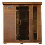 4-Person Cedar Sauna with Carbon Heaters