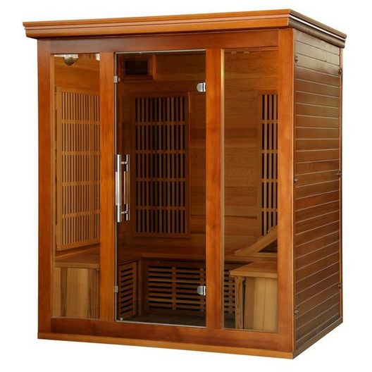 3-4 Person Premium Sauna with Carbon Heaters