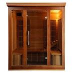 Heatwave  SA1322 Cedar Elite 4-5 Person Premium Sauna with Carbon Heaters