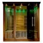 SA1322 Cedar Elite 4-5 Person Premium Sauna with Carbon Heaters