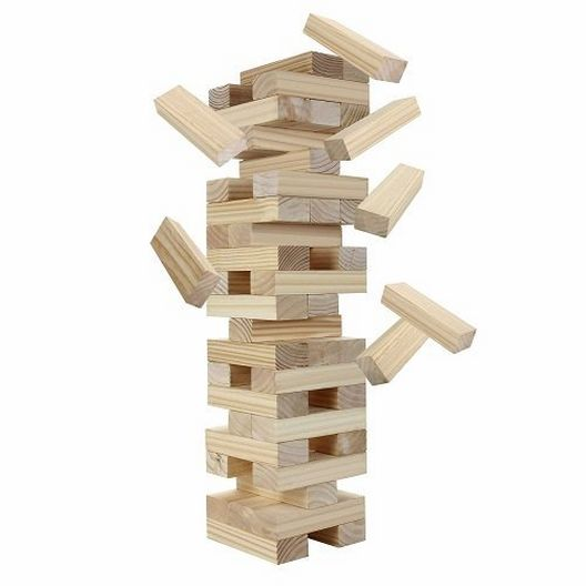 Block Out Wood Game Set
