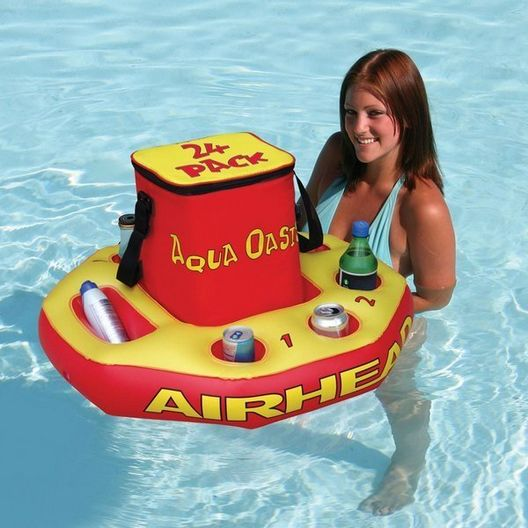 Airhead  Floating Inflatable Cooler