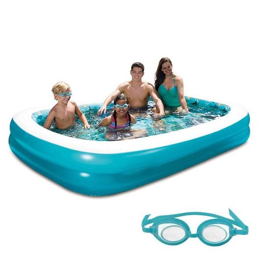 Rectangle Inflatable Play Pool