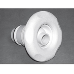Waterway - Poly Gunite Directional Large Face Textured Five-Scallop Spa Jet Internal - 382399