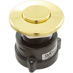 Tecmark - Air Button, Flush, Polished Brass, TDI 3242 - 382875