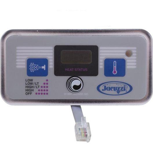 Jacuzzi® Spas Panel R574/576 Jacuzzi® 2 Button Digital (ALT = 51705 or 54116)
