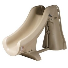 S.R. Smith - SlideAway Removable Pool Slide, Taupe