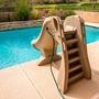 660-209-5820 SlideAway Removable Pool Slide, Gray