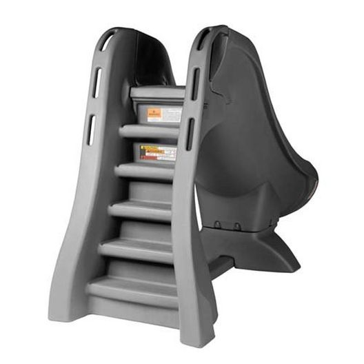S.R Smith  660-209-5820 SlideAway Removable Pool Slide Gray