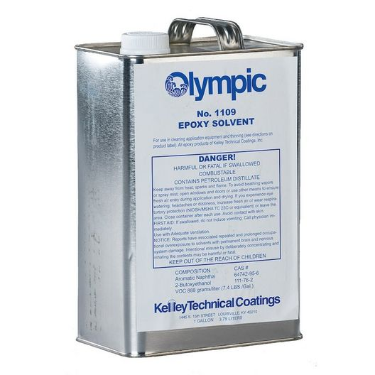 Olympic Epoxy Solvent and Paint Thinner, 1 Gallon
