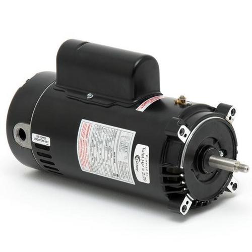 Century A.O. Smith - EUSN1202 C-Face 2HP Single Speed Up-Rated 56J Pump Motor, 230V