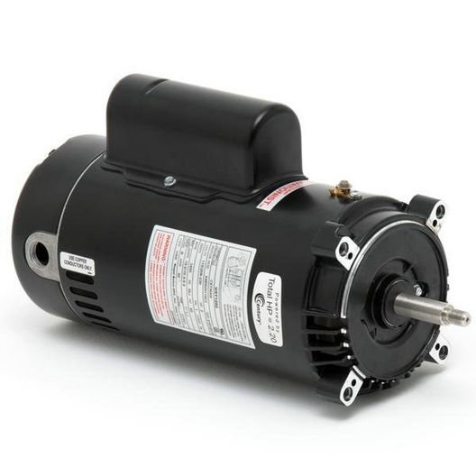 EUSN1202 C-Face 2HP Single Speed Up-Rated 56J Pump Motor, 230V