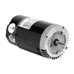 U.S. Motors - Emerson 56C C-Flange Single Speed 1-1/2HP Full Rated Pool and Spa Motor - 38508