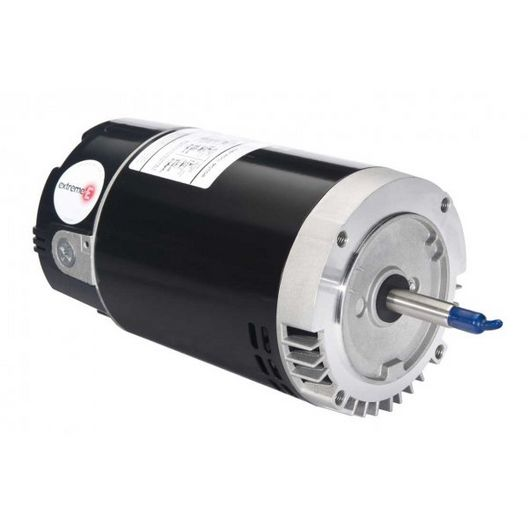 U.S. Motors - Emerson 56J TriStar Single Speed 2HP Full Rated Pool and Spa Motor - 38513