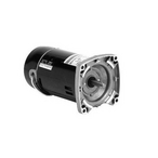 U.S Motors  Emerson 56Y Square Flange 2-Speed 3/4  0.12HP Full Rated Energy Efficient Pool and Spa Motor