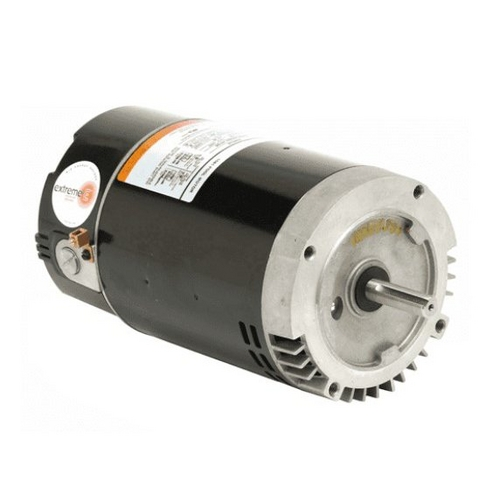 Nidec Motor - Emerson 56C C-Flange 1-Speed 1HP Full Rated Energy Efficient Pool and Spa Motor