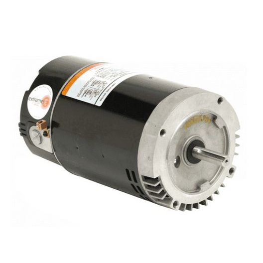 Nidec Motor - Emerson 56C C-Flange 1-Speed 1HP Full Rated Energy Efficient Pool and Spa Motor - 38523