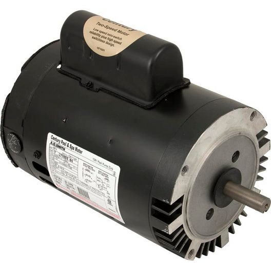 Emerson 56C C-Flange Dual Speed 1/0.12HP Full Rated Pool and Spa Motor