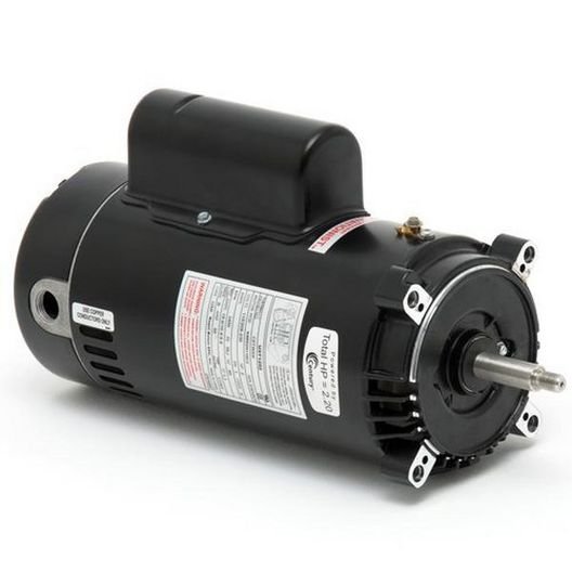 Century A.O. Smith - Emerson 56C C-Flange Single Speed 2HP Full Rated Pool and Spa Motor - 38529
