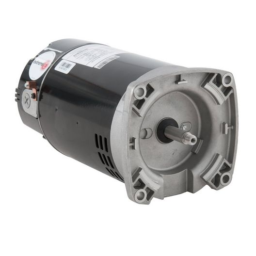 U.S. Motors - ASB841 Square Flange 1HP Full Rated 56Y 115/230V Pool and Spa Motor - 38531