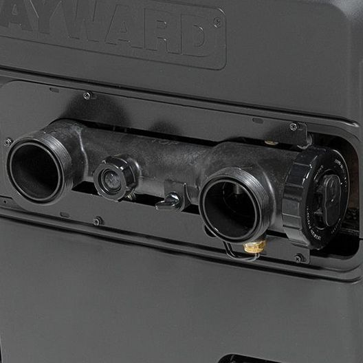 Hayward - W3H400FDN - 400K BTU, Natural Gas, Pool & Spa Heater - Limited Warranty - 385629