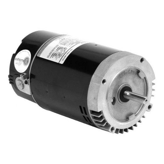 U.S. Motors - Emerson 56J 3/4 / 0.1HP Full Rated 1-Speed Premium Pool and Spa Motor - 38567