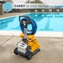 Wave 100 Commercial Robotic Pool Cleaner with Caddy