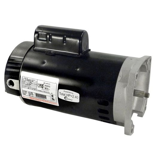 56Y Square Flange 1-1/2HP Full Rated TriStar Replacement Pump Motor, 115/208-230V