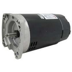 U.S. Motors - Emerson 48Y Square Flange Single Speed 3/4HP Up-Rated Pool and Spa Motor - 38580