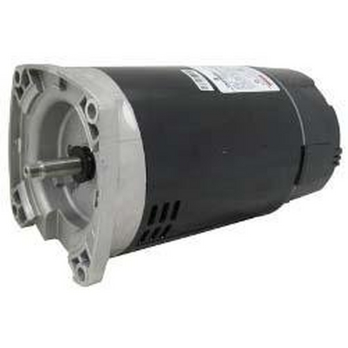 U.S. Motors - Emerson 48Y Square Flange Single Speed 3/4HP Up-Rated Pool and Spa Motor