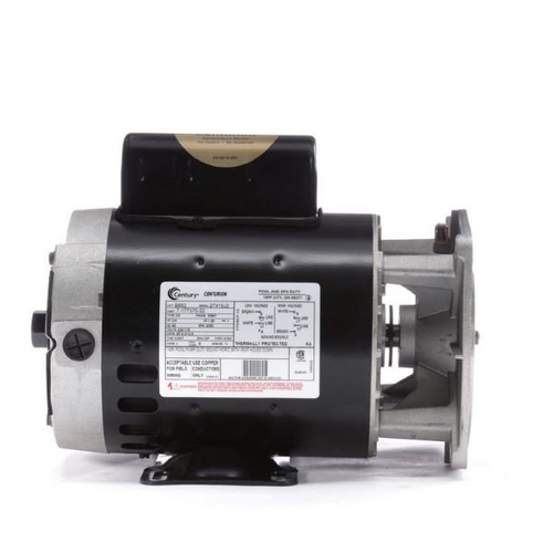 Century A.O. Smith - 56Y Horizontal 3/4 HP Pool Cleaner Replacement Motor, 6.0/12.0A 115/230V