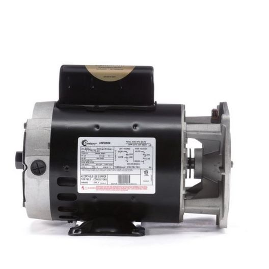 56Y Horizontal 3/4 HP Pool Cleaner Replacement Motor, 6.0/12.0A 115/230V
