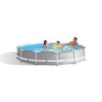 Intex  Prism Frame Premium Above Ground Pool 12 Round x 30 Depth