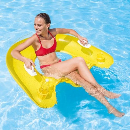 Intex Sit N Float Inflatable Pool Chair - MASTER-prod1970004