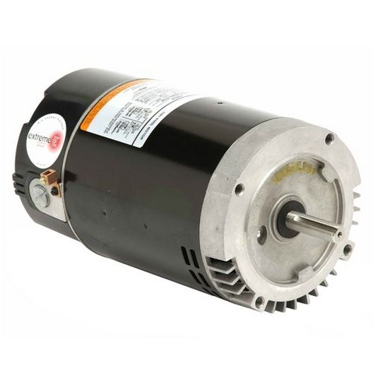 U.S. Motors - 56 J-Frame C-Flange Single Speed 1HP Full Rated Pool and Spa Motor - 38627