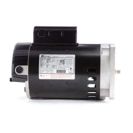 56Y Square Flange 3/4 HP Up-Rated Pool and Spa Pump Motor, 4.0/8.0A 115/230V