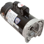 U.S Motors  Emerson 56Y Square Flange 2-Speed 1.5/0.25HP Full Rated Pool and Spa Motor