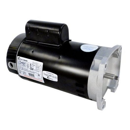 U.S. Motors - Emerson EB2984 Square Flange Dual Speed 2HP Full Rated 56Y Pump Motor - 38635