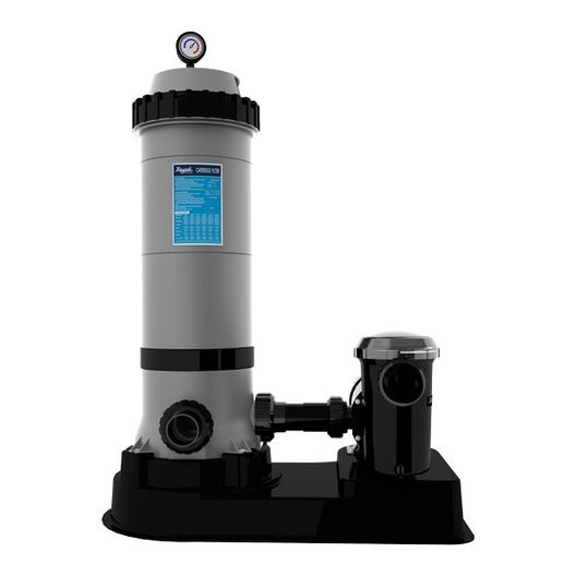 Protege Above Ground Pool Filter Cartridge System, 150 ft, 1.5 HP