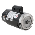U.S. Motors - Emerson 56J C-Flange Dual Speed 1.0/0.12HP Full Rated Pool and Spa Motor - 38636