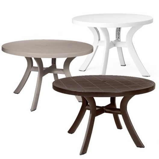 """Toscana Commercial Grade 47"""" Round Table - MASTER-prod1910008"""