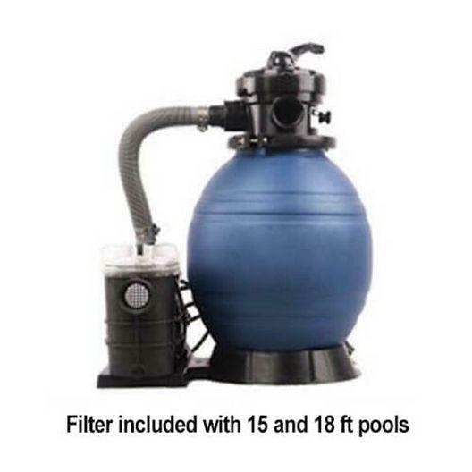Aqua Splash Pro Weekender Pool Package with 48 in. Wall