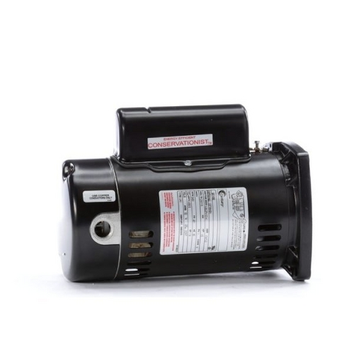 Century A.O. Smith - 48Y Square Flange 1/2 HP Full Rated Pool Filter Motor, 9.6/4.8A 115/230V