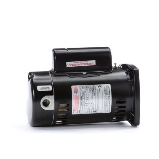 Century A.O. Smith - 48Y Square Flange 1/2 HP Full Rated Pool Filter Motor, 9.6/4.8A 115/230V - 38651