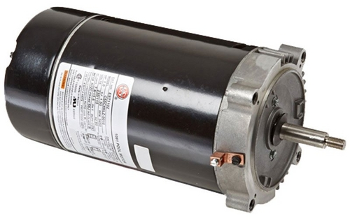 Nidec Motor - 48Y Square Flange Single Speed 1-1/2HP Up-Rated Pool and Spa Moto